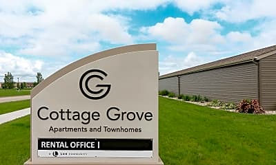 Community Signage, Cottage Grove Townhomes, 2