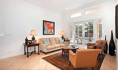 Living Room, 11149 SW 78th Ave, 0