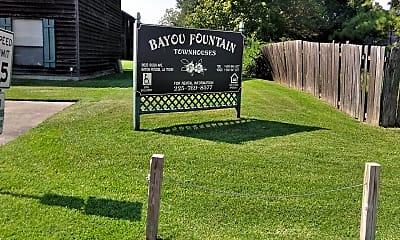 Bayou Fountain Townhouses, 1
