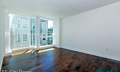 Living Room, 555 Fulton St, 1