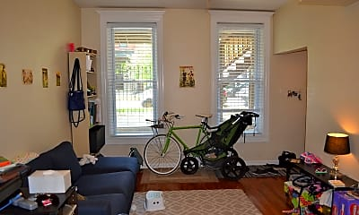Living Room, 2523 N Fairfield Ave 1, 1