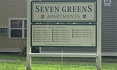 Seven Greens Apartments, 1