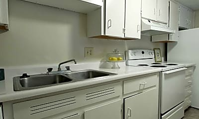 Kitchen, Richland Terrace, 1