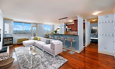 Living Room, 100 Manhattan Ave 1008, 0