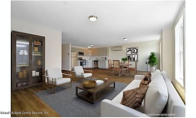 Living Room, 7 Highland Ave 1A, 1
