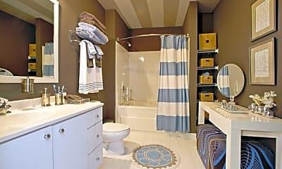 Bathroom, Fisher Building City Apartments, 2