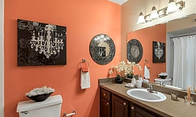 Bathroom, Landmark at Spring Creek Apartment Homes, 2