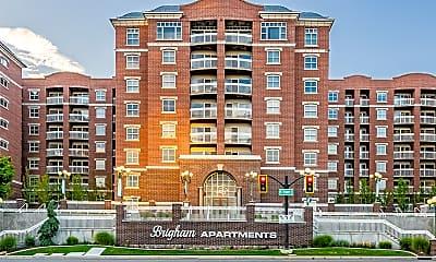 Building, Brigham Apartments, 0