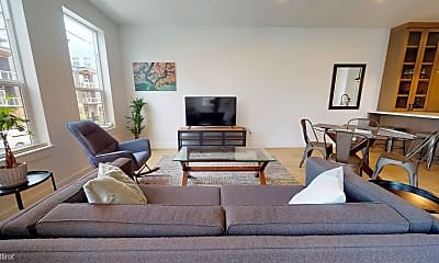 Living Room, 3955 N Vancouver Ave, 1