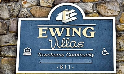 Community Signage, Ewing Villa Townhomes, 2