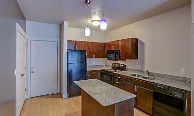 Kitchen, Lotus Apartments, 0