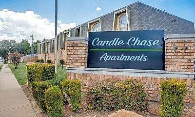 Community Signage, Candle Chase, 0