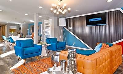 Living Room, Ten 30 Apartments, 0