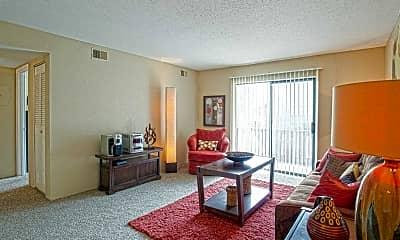 Living Room, Cambridge at River Oaks, 1
