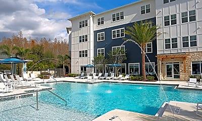 Pool, 5 Oaks @ Westchase, 1