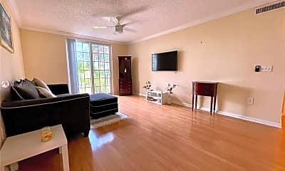 Living Room, 1919 Van Buren St 304A, 1
