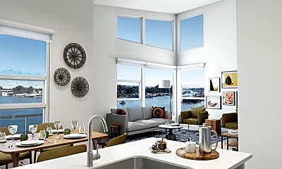 Living Room, Harbor Sky, 1