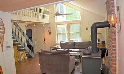 Living Room, 45 Hummingbird Hill, 1