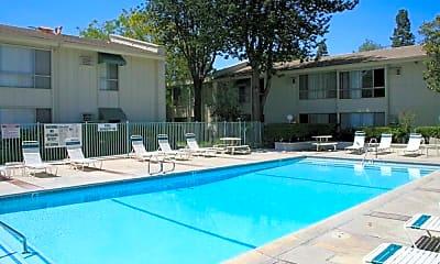 Pool, Woodcreek Apartments, 1