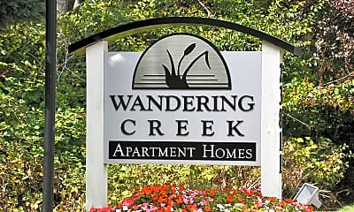 Community Signage, Wandering Creek Apartments, 1
