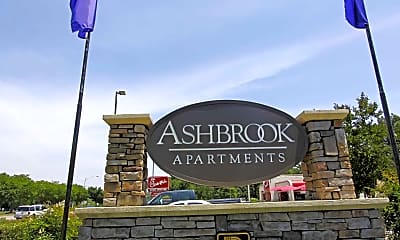 Community Signage, Ashbrook, 2