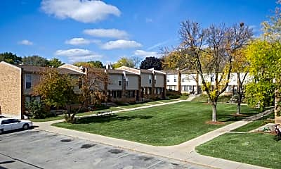 Building, Glendale Townhomes, 1