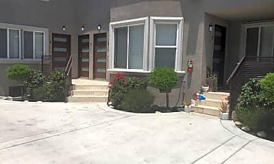 Patio / Deck, 1121 N Sweetzer Ave unit 5, 1
