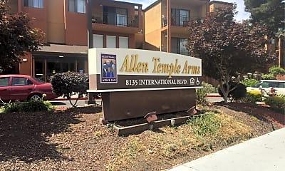 Allen Temple Arms I, 1