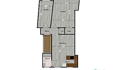 Bedroom, 1628 Lowrie St, 2