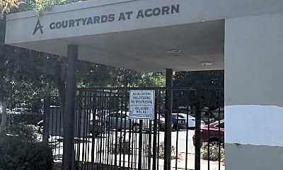 Courtyard at Acorn, 1