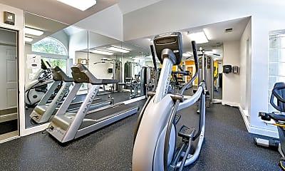 Fitness Weight Room, The Fields of Manassas, 2