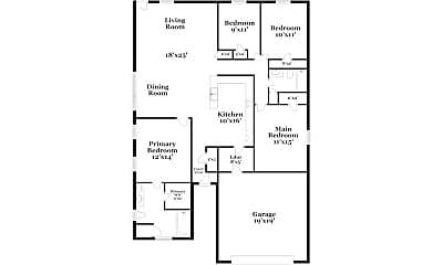 Building, 1075 Clover St, 1