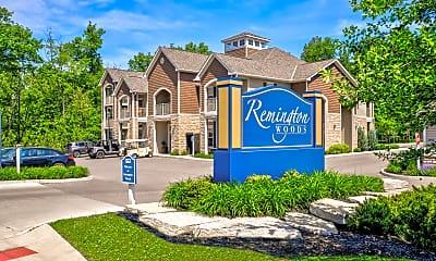 Community Signage, Remington Woods, 2