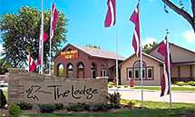 Building, The Lodge, 2
