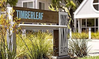 Community Signage, Timberleaf, 1