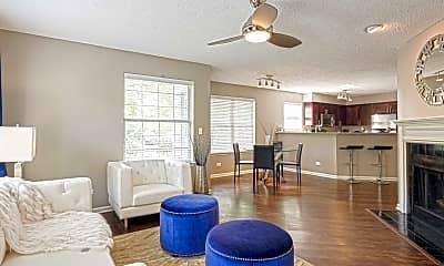 Living Room, Brookdale Lakes, 1