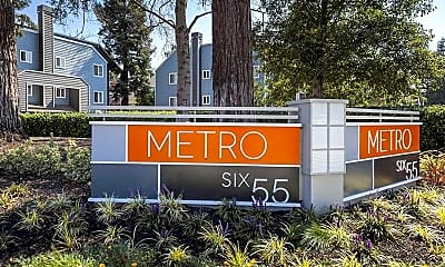 Community Signage, Metro Six55, 2
