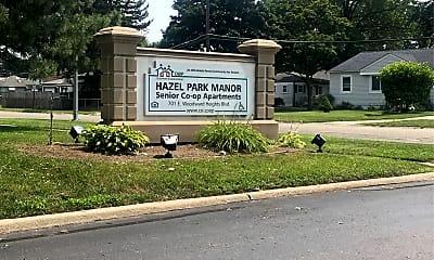 Hazel Park Manor, 1