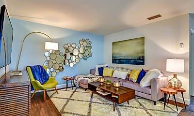 Living Room, Lilac Village, 1
