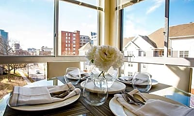 Dining Room, Bedford Hall, 0