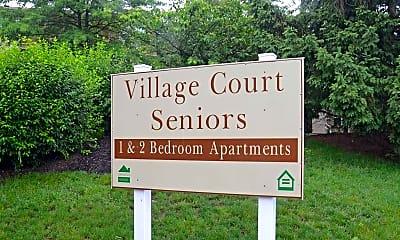 Community Signage, Village Court Seniors, 2