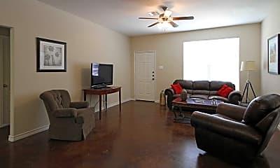 Living Room, Flat Creek Village, 1