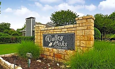 Community Signage, Valley Oaks, 2