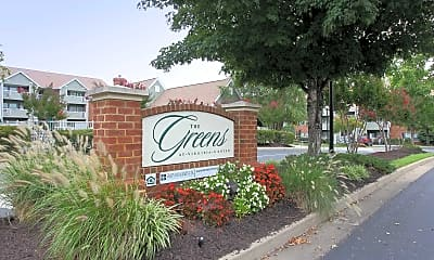 Community Signage, Greens At VA Center, 2