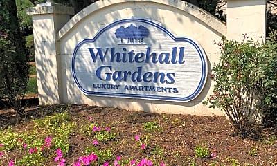 White Hall Gardens, 1