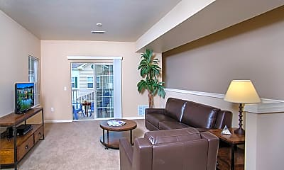 Living Room, 43 North Apartments, 1