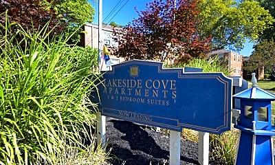 Community Signage, Lakeside Cove Apartments, 1