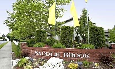 Community Signage, Saddlebrook Apartments, 2