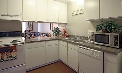 Kitchen, Valley Springs Apartments, 1