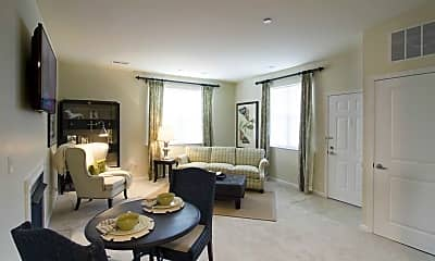Living Room, Residences At Willow Ridge, 1
